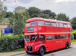 Double deck bus for weddings in Northampton